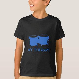 ボンゴ私のセラピーのデザイン Tシャツ
