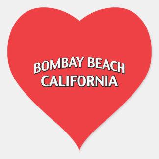 ボンベイのビーチカリフォルニア ハートシール