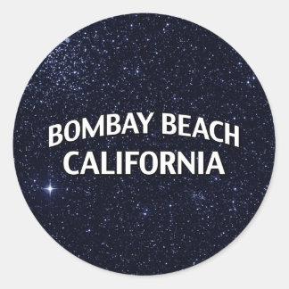 ボンベイのビーチカリフォルニア ラウンドシール