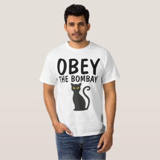ボンベイのTシャツに従って下さい Tシャツ
