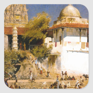 ボンベイのWalkeschwarの寺院そしてタンク スクエアシール