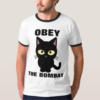 ボンベイ猫のTシャツに従って下さい Tシャツ