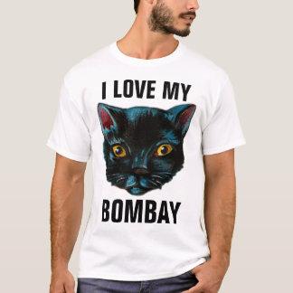ボンベイ黒猫のTシャツ、私は私を愛します Tシャツ