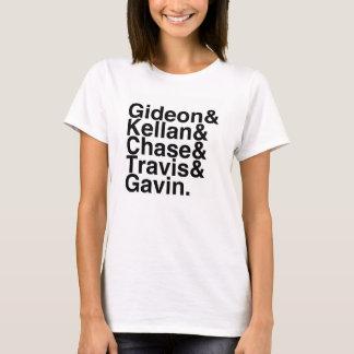 ボーイフレンドGideon、Kellanの追跡、Travisを…予約して下さい Tシャツ