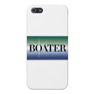 """""""ボーター""""の-航海のなデザイン iPhone 5 COVER"""