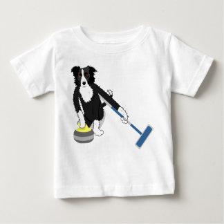 ボーダーコリーのカール ベビーTシャツ
