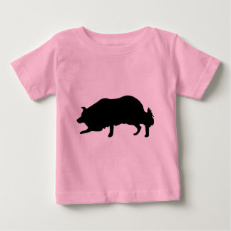 ボーダーコリーのギア ベビーTシャツ
