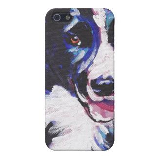 ボーダーコリーのポップアートのiPhoneの場合 iPhone 5 Case