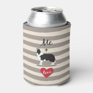 ボーダーコリーの同輩愛クーラーボックスと私 缶クーラー