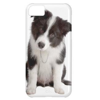 ボーダーコリーの子犬 iPhone5Cケース
