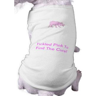 ボーダーコリーの小犬のワイシャツ ペット服