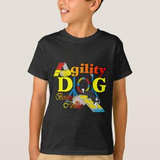 ボーダーコリーの敏捷のギフト Tシャツ