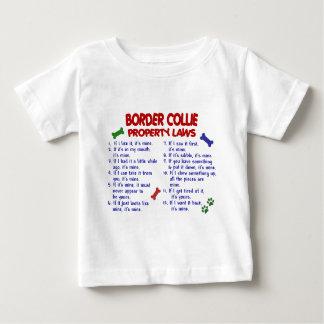 ボーダーコリーの特性の法律2 ベビーTシャツ