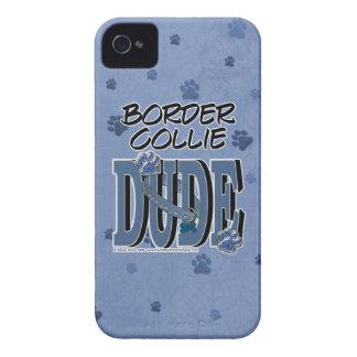 ボーダーコリーの男 Case-Mate iPhone 4 ケース