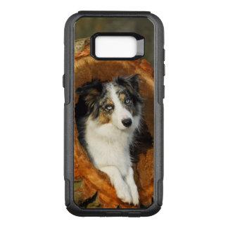 ボーダーコリーの青いMerle犬の写真- Commutercase オッターボックスコミューターSamsung Galaxy S8+ ケース