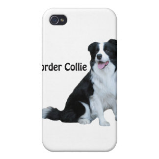 ボーダーコリーのiphone 4ケース iPhone 4/4S カバー
