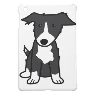 ボーダーコリー犬の漫画 iPad MINIケース