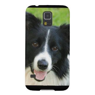 ボーダーコリー犬は文字ペットを加えます GALAXY S5 ケース