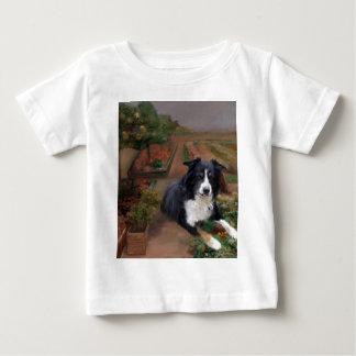 ボーダーコリー2 ベビーTシャツ