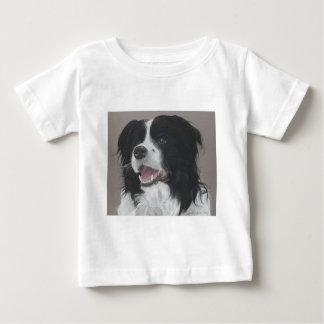 ボーダーコリー3 ベビーTシャツ