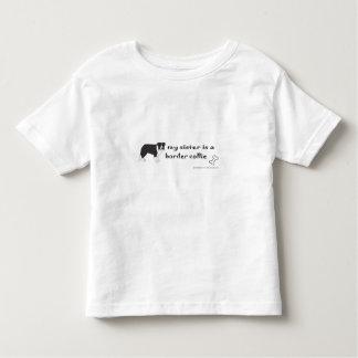 ボーダーコリー トドラーTシャツ