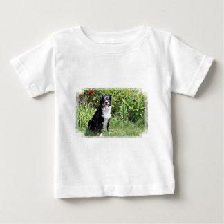 ボーダーコリー-水田- Pasten ベビーTシャツ