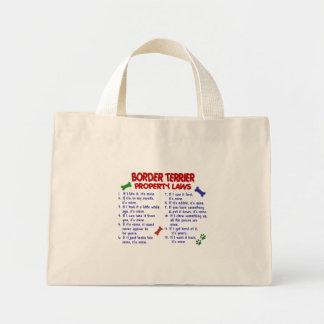 ボーダーテリアの特性の法律2 ミニトートバッグ