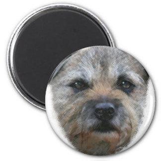 ボーダーテリア犬 マグネット