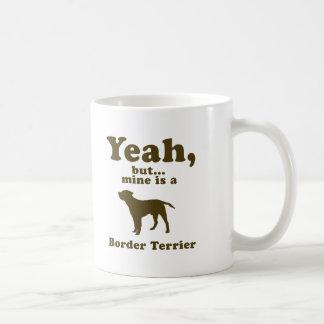 ボーダーテリア コーヒーマグカップ