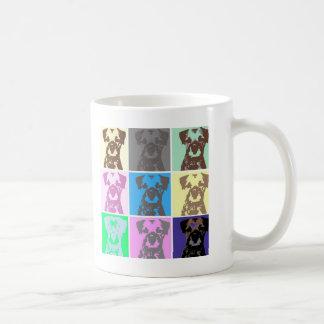 ボーダーテリア、部II コーヒーマグカップ