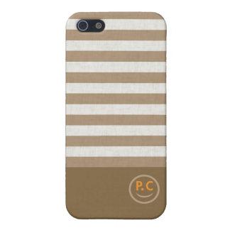 ボーダーロゴ入りデザイン iPhone 5 CASE