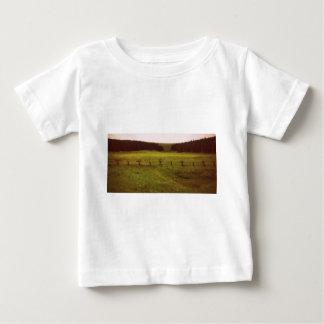 ボーダー ベビーTシャツ
