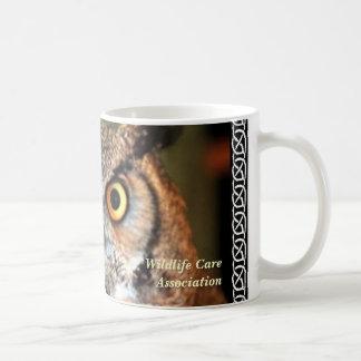ボーダー、野性生物の心配連合とのnala コーヒーマグカップ