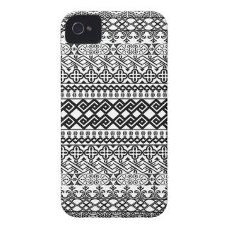 ボーダー Case-Mate iPhone 4 ケース