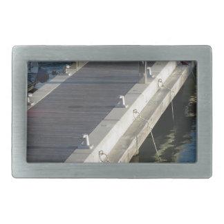 ボートのための木桟橋 長方形ベルトバックル