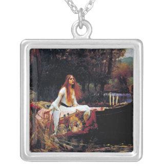 ボートのウォーターハウスの芸術のネックレスのOf Shallot女性 シルバープレートネックレス