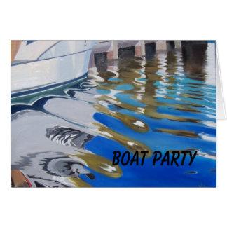 ボートのパーティー カード
