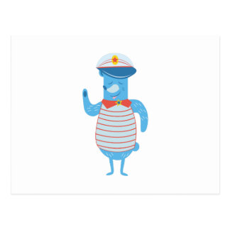 ボートの大尉 ポストカード