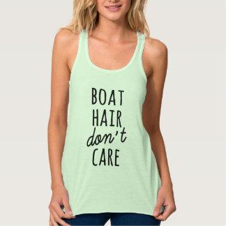 ボートの毛はワイシャツを気にしません タンクトップ