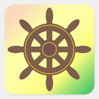 ボートの車輪 スクエアシール