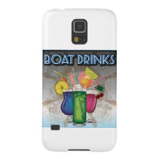 ボートの飲み物 GALAXY S5 ケース