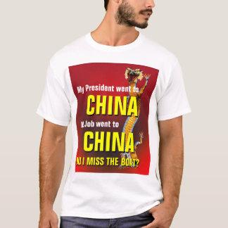 ボートを恋しく思いました Tシャツ