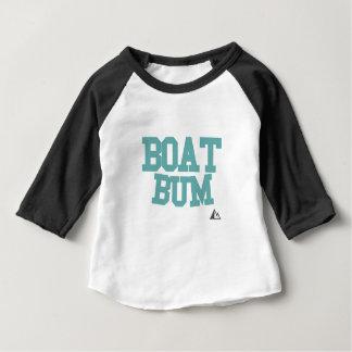 ボートティール(緑がかった色) ベビーTシャツ