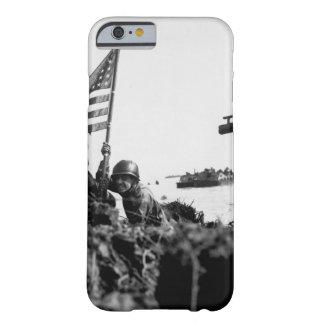 ボートフックのmast_Warイメージのグアムの最初旗 Barely There iPhone 6 ケース