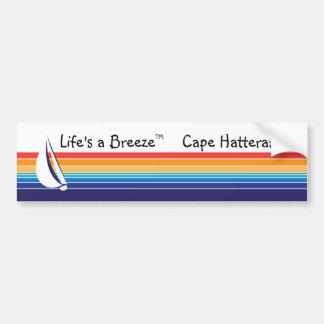 ボート色のSquare_LifeのBreeze™_Cape Hatteras バンパーステッカー