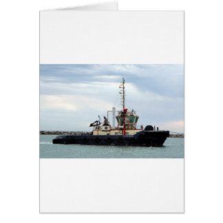 ボート2の港アデレード、南オーストラリアを引いて下さい カード