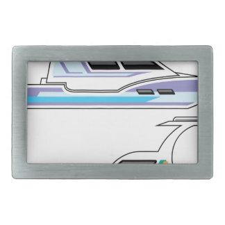 ボート 長方形ベルトバックル