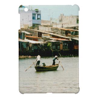 ボート- Saigonの川の2人 iPad Miniケース