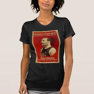 ボードビルのヴィンテージの運動Tシャツ Tシャツ