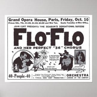 ボードビルの1919年のヴィンテージの新聞広告ポスター ポスター